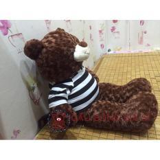 Gấu bông Teddy khổ vải 80cm màu nâu