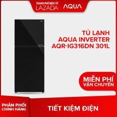 Tủ lạnh Aqua Inverter AQR-IG316DN 301L – Hàng phân phối chính hãng