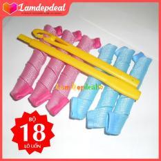 Lamdepdeal – Bộ tạo kiểu tóc xoăn 18 ống Curlformer dài 15cm – Dụng cụ làm tóc