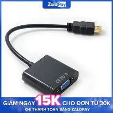 Cáp chuyển đổi HDMI sang VGA HDMI to VGA cho máy tính laptop