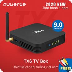 [Hot Sale][Sản phẩm mới] Hộp TV thông minh TX6 Allwinner H6 hdh android 9.0 cấu hình 4GB RAM 32GB ROM Quad Core độ phân giải 6K, kết nối Wifi không dây – INTL