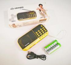 Loa nghe nhạc USB thẻ nhớ FM Craven CR-836 ,836S 2 Pin Siêu Trâu