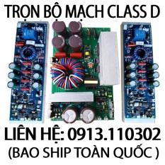 TRỌN BỘ MẠCH CLASS D 8 MOSFET PA 6000