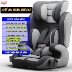 Ghế ô tô cho bé CAR365 an toàn tiện lợi, dây đai chắc chắn, chất liệu thoáng khí tương thích mọi loại xe, có thể điều chỉnh góc độ, đai an toàn, có tay cầm giữ bình sữa bình nước cho bé tiện lợi, bảo hành 12 tháng – CAR26