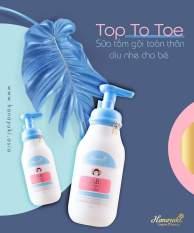 [Date 2023] SỮA TẮM GỘI THẢO DƯỢC HANAYUKI BABY TOP TO TOE WASH .