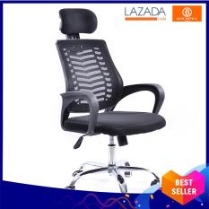 Ghế văn phòng – Ghế xoay tựa đầu chống mỏi cổ – Ghế làm việc đa tiện ích – Office chairs BOX410