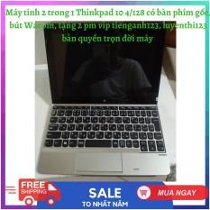 [Trả góp 0%]Máy tính 2 in 1 Lenovo Thinkpad có bàn phím gốc và bút wacom 4/128 win education tặng 2 pm vip tienganh123 luyenthi123 trọn đời máy