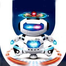 Đồ chơi robot tự nhảy và phát nhạc 360 độ