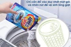Bột tẩy lồng máy giặt Hàn Quốc Tiktak gói 450g, đánh bay mảng bám, ố vàng