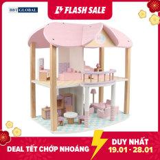 Đồ chơi trẻ em ngôi nhà búp bê bằng gỗ cao cấp MSN19029 – do choi tre em, đồ chơi gỗ, đồ chơi an toàn