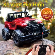 Xe địa hình điều khiển từ xa có đèn led 6836 – Xe jeep địa hình điều khiển bằng remote – Ô tô địa hình 4 bánh giá rẻ – Xe địa hình đồ chơi – Xe jeep mô hình RC – Thế giới đồ chơi trẻ em – Quà tặng sinh nhật cho bé trai