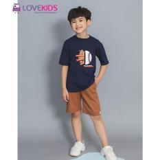 Quần short kaki Best Friend – Nâu Lovekids