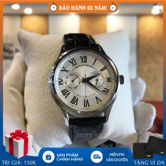 Đồng hồ nam Romanson TL3204FMWWH full hộp, thẻ bảo hành hãng 3 năm, chống nước, dây da