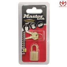 Ổ khóa vali Master Lock 115 EURD thân đồng rộng 15mm khóa hành lý – MSOFT