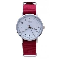 Đồng hồ nữ JA-914LC JU1147 JULIUS HÀN QUỐC Dây vải (Hồng)
