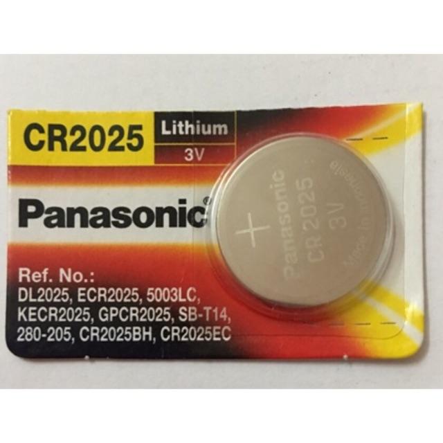 Pin CR2025 Panasonic Vỉ 1 Viên
