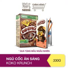 [Tặng hộp bút cho bé] Ngũ cốc ăn sáng Koko Krunch (Hộp 330g)