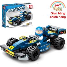 Đồ chơi xếp hình xe đua F1 với hơn 90 chi tiết phát triển tư duy của bé và cả nhà có thể chơi cùng nhau – KAVY-31006D