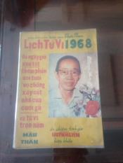 Lịch Sách Tử Vi Huỳnh Liên Tử 1968-69-70-71-72-73-74-75