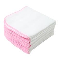 Set 10 cái khăn sữa Xô sơ sinh 3 lớp