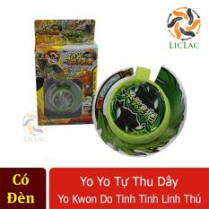 Yoyo tự thu dây Yo Kwon Do Tinh Tinh Linh Thú ( Có Đèn ) – Đồ chơi yoyo tự thu dây cho bé tập chơi – LICLAC