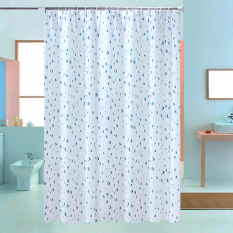 Rèm cửa nhà tắm Họa Tiết Bắt Mắt 1.8×1.8 bst1761
