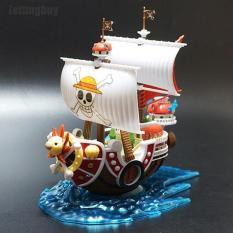 Bộ đồ chơi lắp ráp mô hình tàu cướp biển One Piece Thousand Sunny chất liệu nhựa, kích thước 31*19*7cm