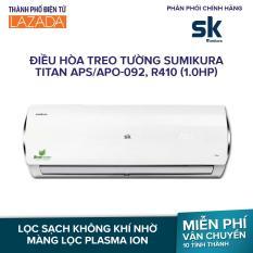Điều hòa treo tường Sumikura Titan APS/APO-092, R410 (1.0HP) – Điện năng tiêu thụ (Lạnh/nóng) (W) 857/835, Sản Xuất tại Malaysia – Hãng phân phối chính thức