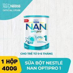 [FREESHIP TOÀN QUỐC] Sữa bột Nestle NAN OPTIPRO 1 400g cho trẻ từ 0-6 tháng tuổi dễ tiêu hóa dễ hấp thụ hỗ trợ sức đề kháng hỗ trợ phát triển trí não và thị lực – HMO