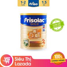 Sữa Bột Friso Gold 3 1.5kg cho trẻ từ 1-2 tuổi – Cam kết HSD ít nhất 10 tháng – Tốt cho tiêu hóa & đề kháng tốt, giúp bé khỏe mạnh từ bên trong, thỏa sức khám phá để phát triển toàn diện