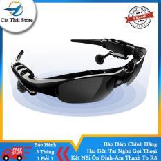 Tai nghe thông minh Wang Hung nhiều chức năng không dây mắt kiếng phân cực mắt râm kèm tai nghe nhét tai