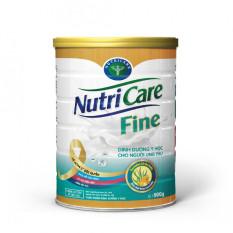Sữa bột Nutricare Fine – dinh dưỡng y học cho người ung thư hỗ trợ cải thiện tình trạng suy kiệt, suy dinh dưỡng giúp tăng cường sức khỏe (900g)