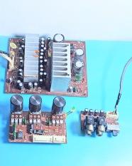 Mạch khếch đại 4.1 kênh + âm sắc (tháo máy). AL.72