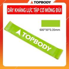 Dây miniband kháng lực tập cơ mông đùi TOPBODY – MIBAL05-XL