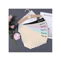 Bộ 10 quần lót nữ su đúc lượn sóng mỏng nhẹ, thoáng mát, mềm mịn không đường may, phom quần ôm mông, tôn dáng cho bạn gái thoải mái diện trang phục bó sát