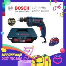 Máy khoan động lực Bosch GSB 13 RE kèm bộ phụ kiện FREEDOM 90 chi tiết – Tặng Nón bảo hiểm Bosch