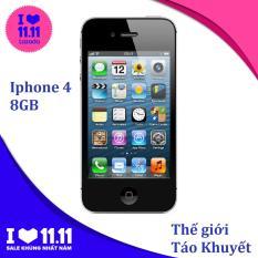Điện thoại Apple IPHONE 4 – 16GB/8GB – Bảo hành 1T – Giá rẻ – MÁY TRẦN – Thế Giới Táo Khuyết