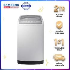 Máy giặt Samsung WA82M5110SG/SV 8,2kg, xoáy cực mạnh giúp đánh bật mọi vết bẩn và không làm rối quần áo,Lồng giặt kim cương