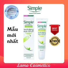 Lăn Mắt Simple Kind To Skin Revitalising Eye Roll-On Chính Hãng 100%