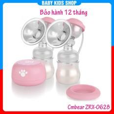 Máy hút sữa điện đôi Cmbear ZRX-0628 có pin sạc
