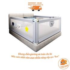 Thanh chắn giường cho bé chặn quây giường cũi 1m6 1m8 2m 2m2 (1 thanh) TG19111