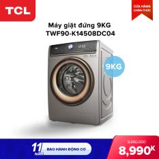 Máy giặt TCL 9,0Kg lồng ngang TWF90-K14508DC04 – Màn hình cảm ứng – Động cơ Inverter không chổi than – Giặt nhanh 15 phút – Lồng giặt tổ ong – Khóa nam châm điện – Chống bẩn.