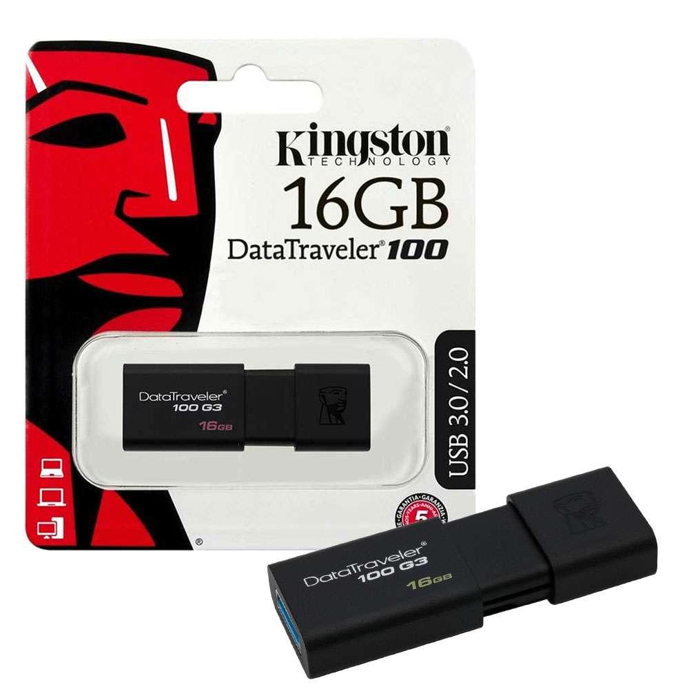 [Nhập ELJAN11 giảm 10%, tối đa 200k, đơn từ 99k]USB Kingston 16GB DataTraveler G3 - Bảo hành 5 năm !!!