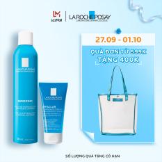 Bộ xịt khoáng giúp làm sạch, làm dịu và giảm bóng nhờn La Roche-Posay Serozinc