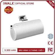 Sạc dự phòng mini iWalk DBL3300M 3300mAh Micro USB siêu nhỏ gọn, tiện lợi