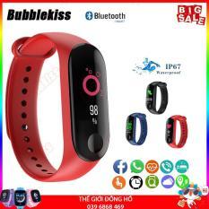 [Sale 50%] Vòng đeo tay thông minh Smart Band Cao Cấp, Vòng Đo Nhịp Tim kết nối Bluetooth.Đồng hồ Thông Minh Chống Nước Vòng Tay Đồng Hồ Dây Đeo Tay Tập Thể Thao, Vòng Theo Dõi Sức khỏe, Vòng Theo dõi vận động