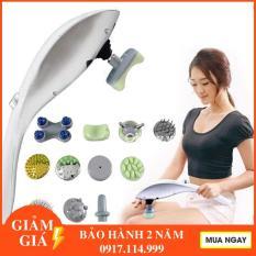 Máy massage cầm tay 11 đầu hồng ngoại matxa toàn thân – Máy Matxa cầm tay 11 đầu toàn thân hồng ngoại