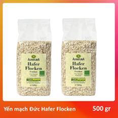 Yến mạch Hafer Flocken cán vỡ Bio Alantura Đức 500 g