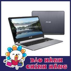 Laptop Asus X507UA-EJ314T i3-7020U, 4Gb, 1Tb, 15 Full HD, Win 10 (Xám) – Hãng phân phối chính thức