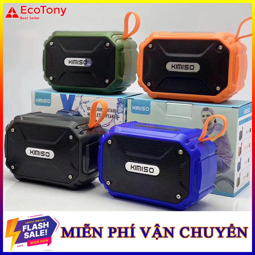 [BH 1 đổi 1] Loa Bluetooth Kimiso 112 Cao Cấp Eco Tony Chống nước đi mưa Loa mini Loa cầm...